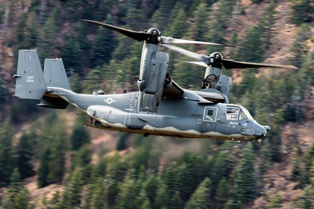 CV-22 Osprey U.S. Air Force Academy Flyover