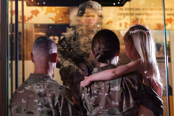 On display: Soldier forever enshrined at National Army Museum