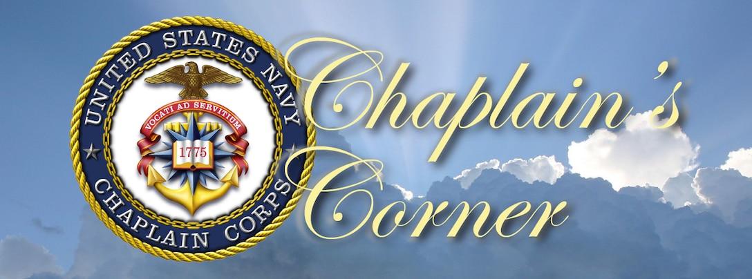 Chaplain's Corner Graphic