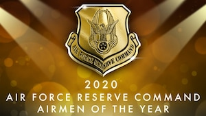 Air Force Reserve Command's Outstanding Airmen of the Year sign, Robins Air Force Base, Georgia. (U.S. Air Force photo)