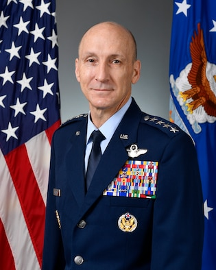 This is the official portrait of Gen. David W. Allvin.