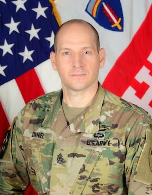 Sgt. Maj. Joseph P. Daniel