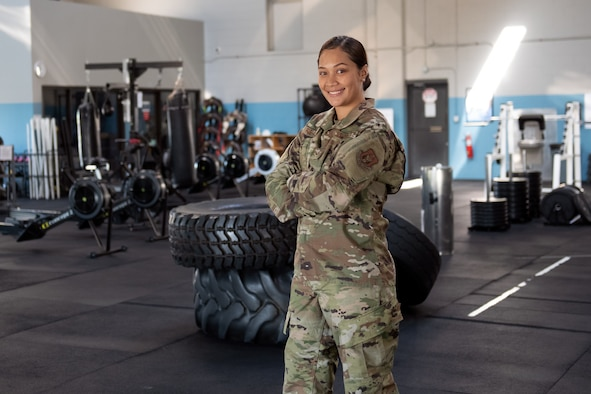 Senior Airman Chanaramis Fue-Asuega is a food service specialist in the 419th Force Support Squadron