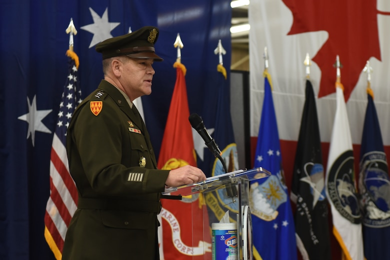 Photo from change of command ceremony