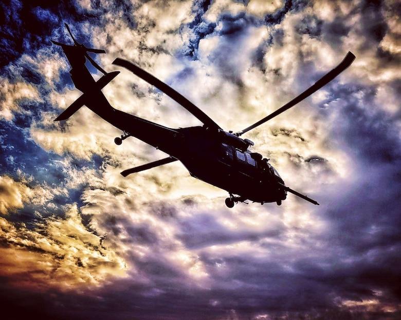 A photo of an HH-60G Pave Hawk