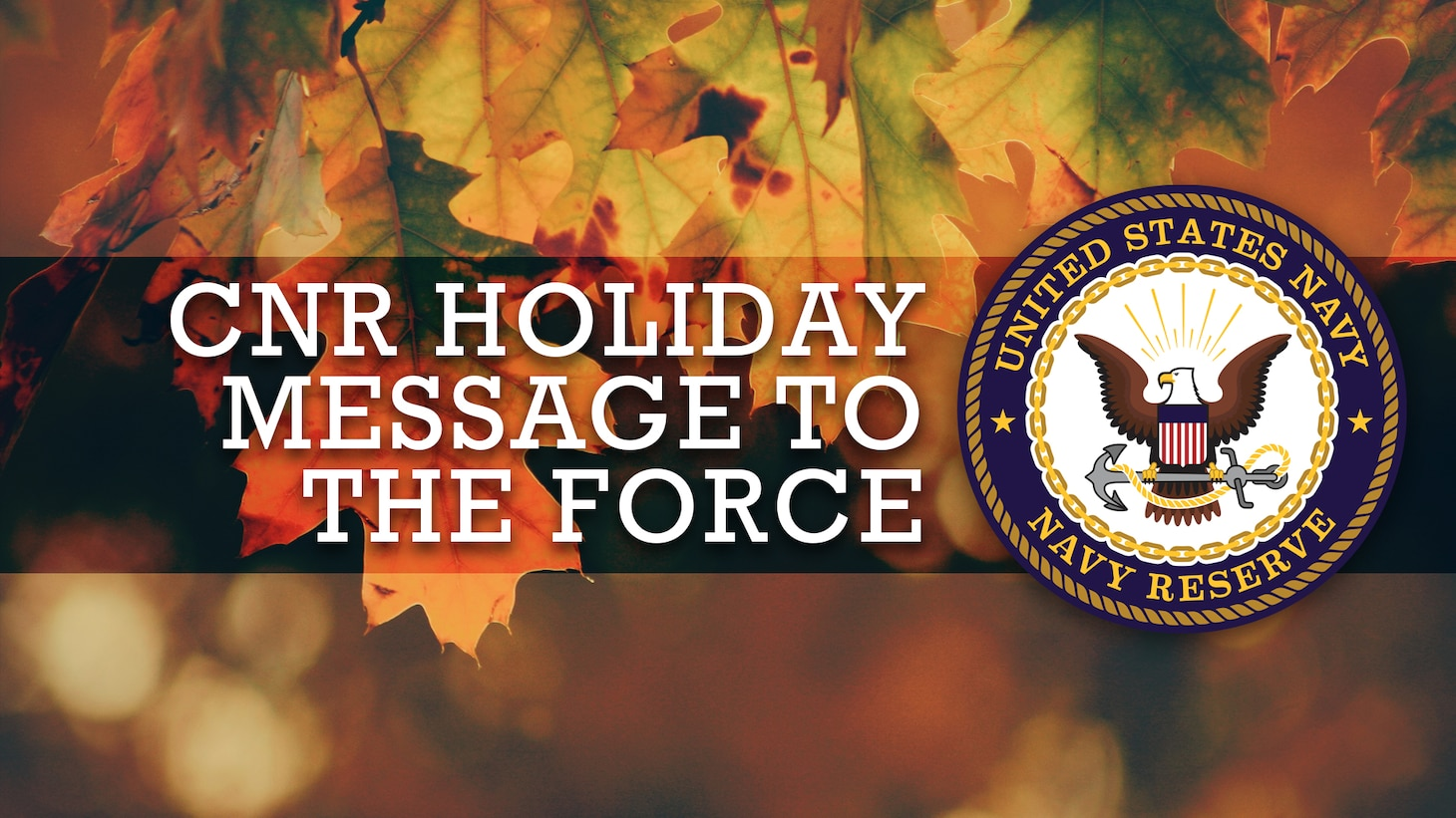 CNR Holiday Message To The Force