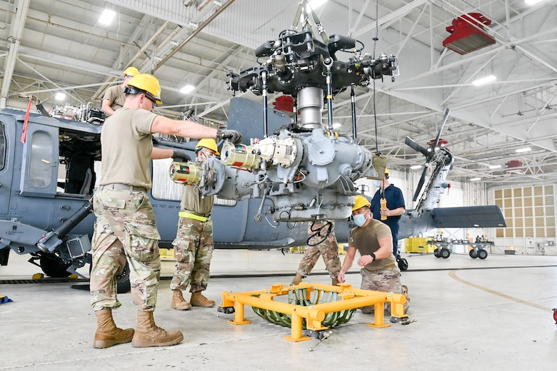 HH60G Pave Hawk Helicopter Maintenance