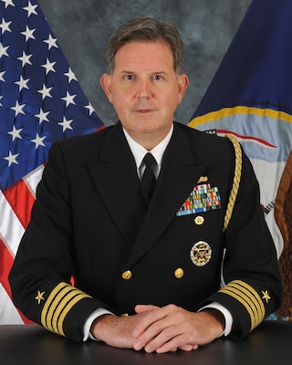 Official Portrait of Capt. Sean Kelley