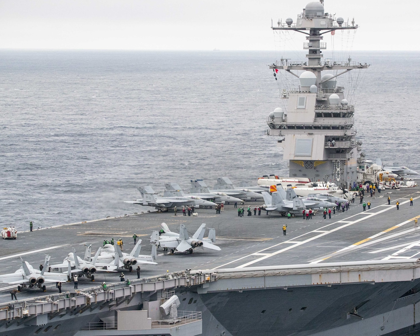 Air Defense Commander Integrates Into Ford Strike Group