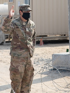 Re-enlisting during a pandemic