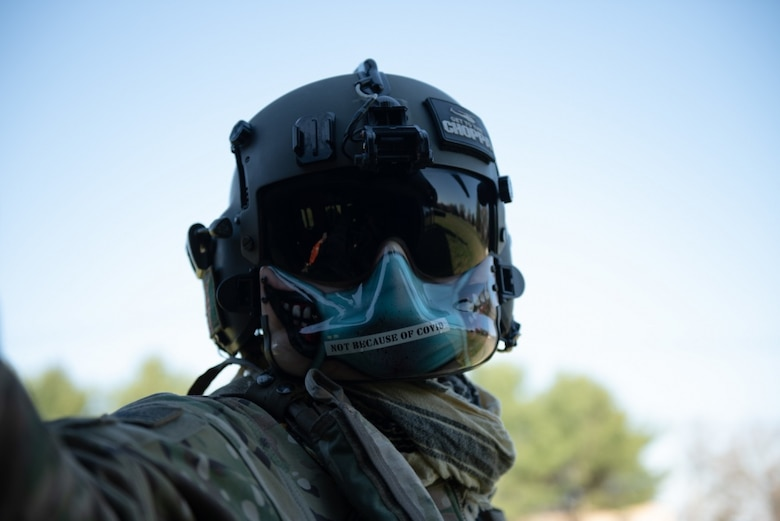 A photo of a soldier.