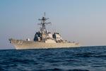 Guided-missile destroyer USS John Paul Jones (DDG 53) (Photo by U.S. Navy photo by Mass Communication Specialist 3rd Class Aja Bleu Jackson)