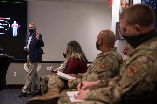 Active shooter training exercise at JBSA-Fort Sam Houston is conducted to educate the unit's personnel how to better defend themselves against an active shooter.