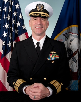 201120-N-N0443-1000 PENSACOLA, Fla. (Nov 11, 2020)Official photo of Capt. Steven W. Antcliff.(U.S. Navy photo)