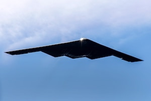 B-2 Bomber Flyover U.S. Air Force Academy 2020