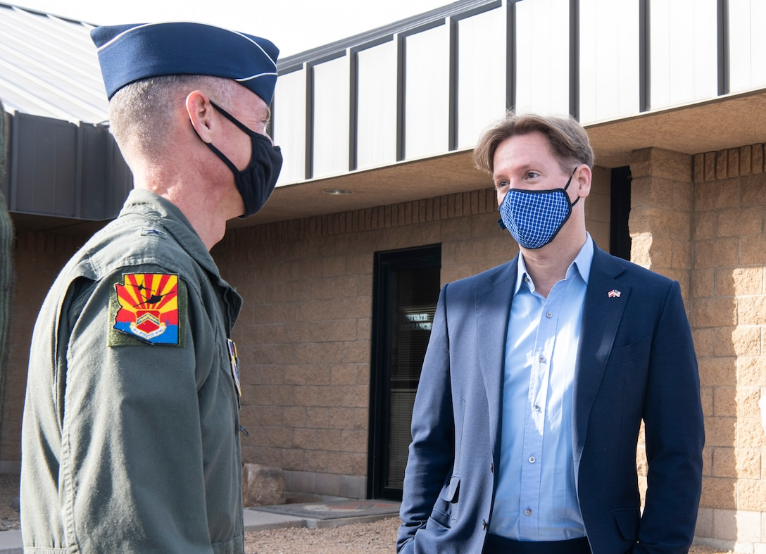 U.S. Ambassador tours Luke Air Force Base