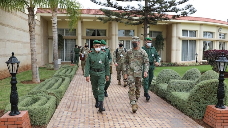 US, Moroccan generals launch planning for African Lion 21