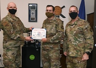 STEP promotion given to ABG Airman