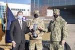 Army missile defense brigade receives U.S. Strategic Command award.