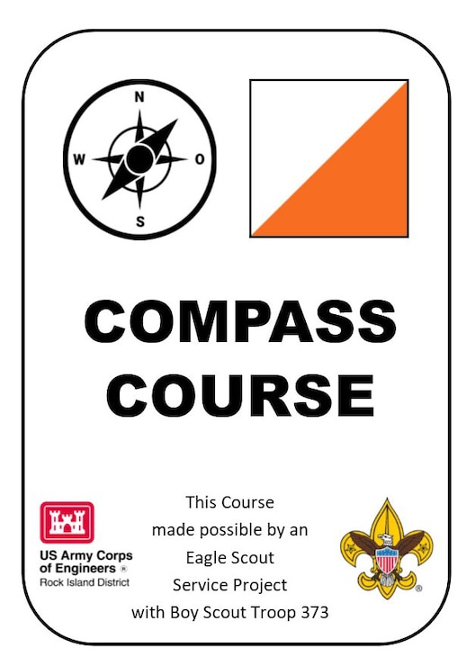 Compass Course Sign