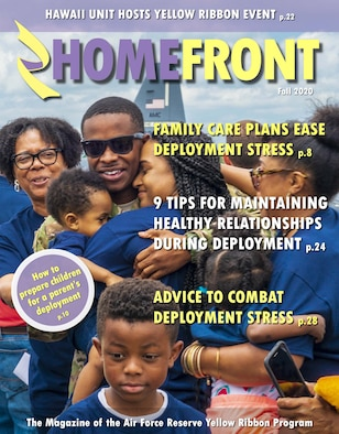 HOMEFRONT Magazine cover for Fall 2020.