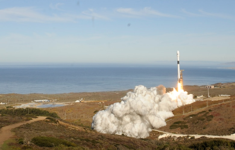 Members at Vandenberg Air Force Base launched the Sentinel-6 Michael Freilich satellite Saturday, Nov. 21, 2020, at 9:17 a.m., from Vandenberg Air Force Base, Calif.