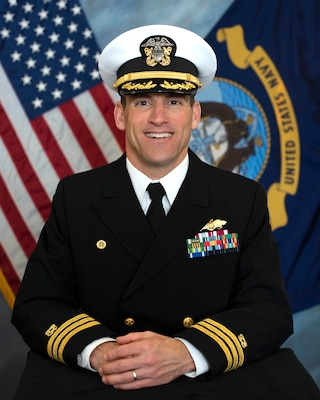 201123-N-N0443-6000 PENSACOLA, Fla. (Nov. 23, 2020) Official photo of Cmdr. Greggory A. Benton. (U.S. Navy photo)