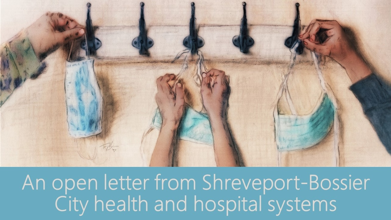 As Thanksgiving, Christmas and the New Year are approaching and COVID-19 cases surge, the physicians, nurses, hospital and health system leaders on the front lines sent a letter to the Shreveport-Bossier City area.