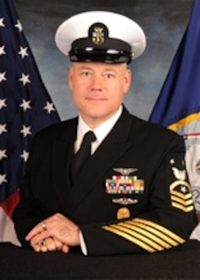 201123-N-N0443-2100 PENSACOLA, Fla. (Nov. 23, 2020) Official photo of Command Master Chief Joseph D. Fahrney. (U.S. Navy photo)