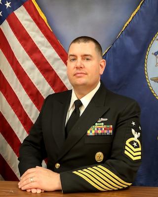 Command Master Chief Richard S. Garrison