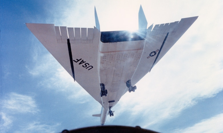 Photo of XB-70 from below