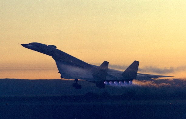Photo of XB-70 launch