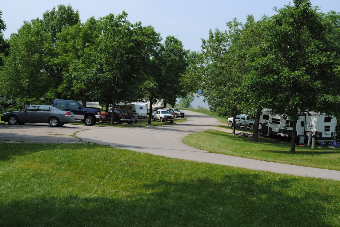 Campers in Wallashuck Campground