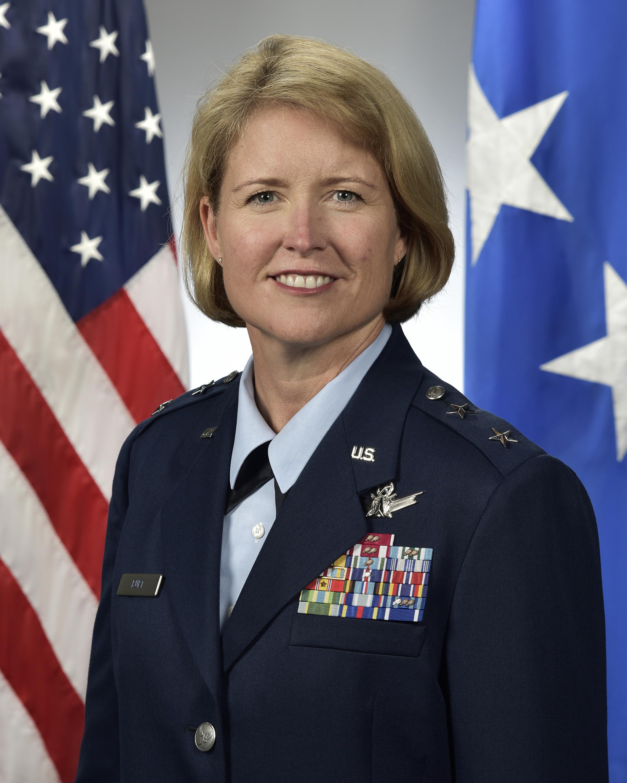 Maj Gen DeAnna M. Burt Biography Photo