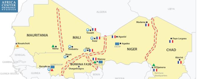 Regional security efforts in the Sahel