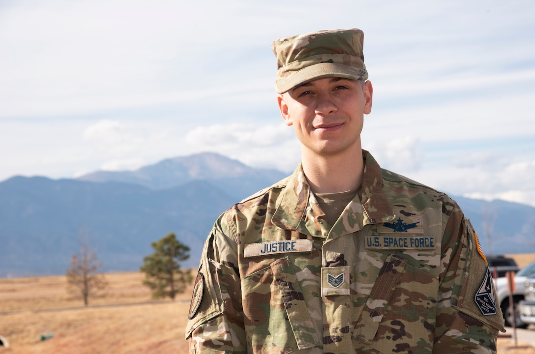 Staff Sgt. Kevin Justice, Space Delta 3, 4th Space Control Squadron space control technician