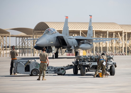 The 380th Expeditionary Logistics Readiness Squadron conducted hot-pit refueling in support of 332nd AEW aircraft maintainers to enable rapid air operations within the U.S. Central Command area of responsibility.