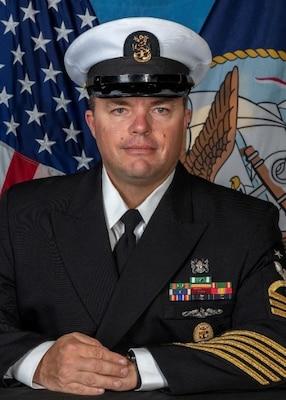 201124-N-N0443-5000 PENSACOLA, Fla. (Nov. 24, 2020) Official photo of Command Master Chief Daniel Laube. (U.S. Navy photo)