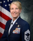 Chief Master Sgt. Timmerman's official biography photograph.