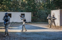 Fort Eustis military police conduct rapid response exercise