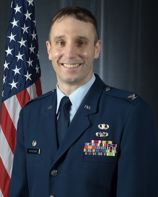 Official portrait of Col. Brian Jusseaume, 157th Maintenance Group commander, New Hampshire Air National Guard, Pease Air National Guard Base, N.H., Nov. 24, 2020 (U.S. Air National Guard photo by Tech. Sgt. Aaron Vezeau)
