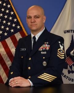 Photo of Command Master Chief Justin P. Knudsen