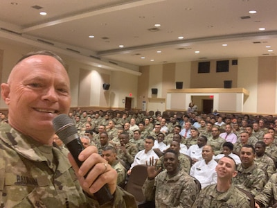 Guard member shares past, gives voice to suicide prevention