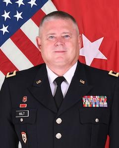 "Official portrait of Brig. Gen. Murray E. ""Gene"" Holt, Assistant Adjutant General - Army, West Virginia National Guard."