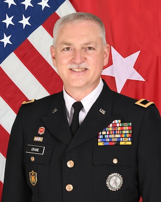 Official portrait of Brig. Gen. William E. Crane.