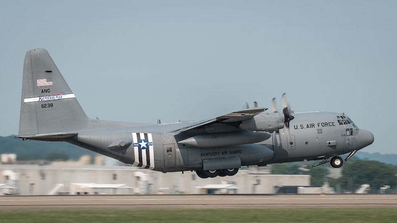 The Kentucky Air National Guard's 123rd Airlift Wing, based in Louisville, Ky., has been flying the C-130H Hercules aircraft since 1992. Air Force officials have announced that the wing will receive eight C-130J aircraft sometime in 2021, replacing planes that have seen duty on nearly every continent, including multiple deployments to the U.S. Central Command Area of Responsibility. (U.S. Air National Guard photo by Dale Greer)