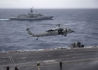 Nimitz Carrier Strike Group Concludes Cooperative Deployment with Royal Australian Navy