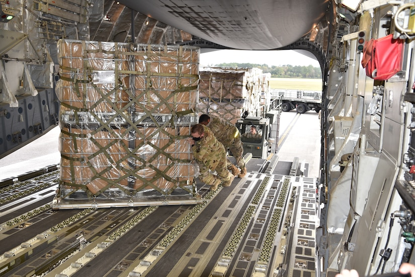 Joint Base Charleston teams up with local charity to airlift humanitarian aid to Honduras