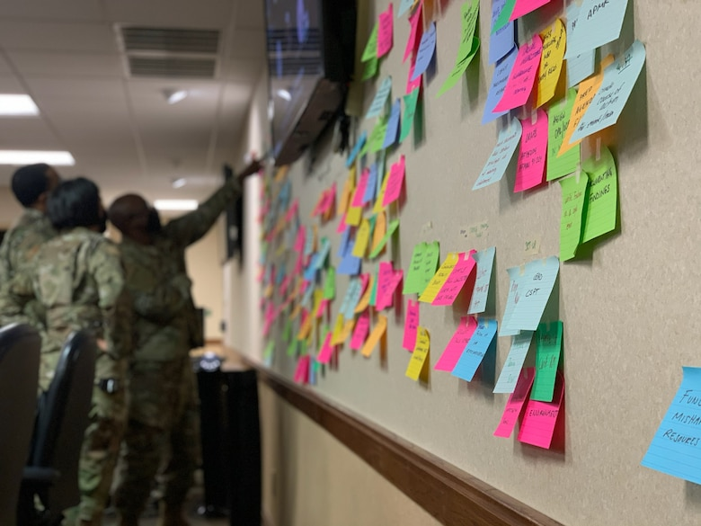 Airmen participate in active learning study