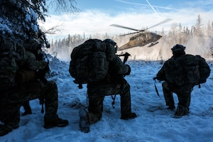 3rd ASOS special warfare Airmen conduct small unit training at JBER